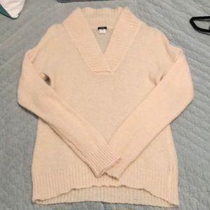 J Crew Ivory Sweater - Medium